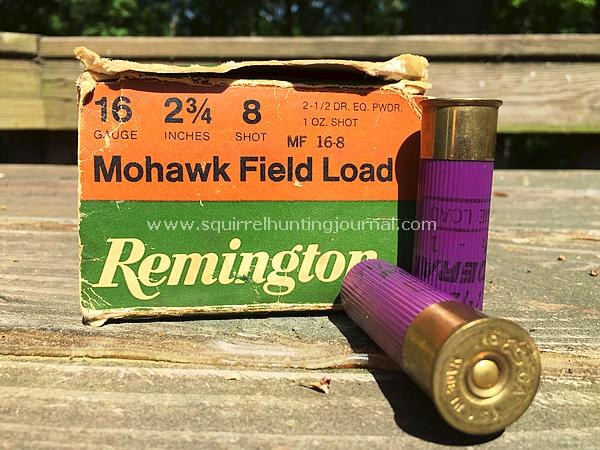 Shotguns for Squirrels - Squirrel Hunting Journal